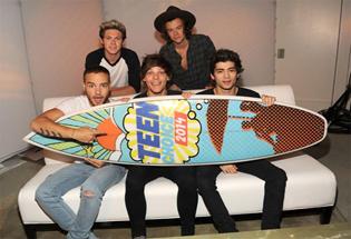 One Direction Idola Para Remaja