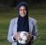 Assmaah Helal Tetap Berlatih Sepak Bola Meski Sedang Puasa