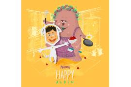 Cerita di Balik Kolaborasi Mocca dengan Aldin dalam Lagu 'Happy'