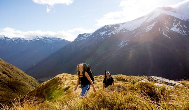 Gunung Aspiring Selandia Baru