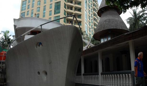 Masjib Perahu di Jakarta