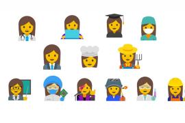 Emoji Wanita Karier Akan Segera Hadir di Google