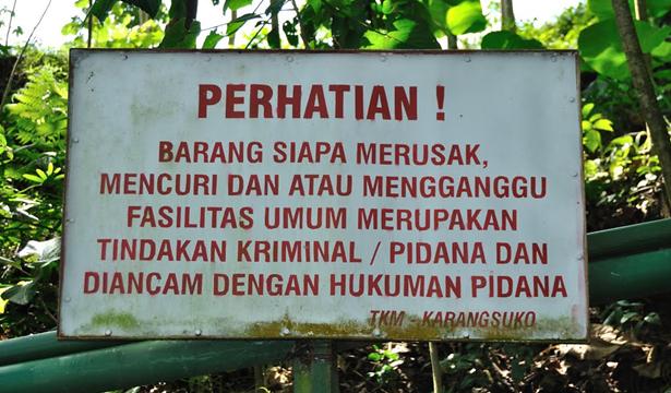 Imbauan Tempat Wisata
