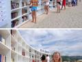 Perpustakaan di pantai