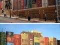 Perpustakaan berbentuk buku