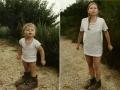 Cecile 1987 & 2010, France