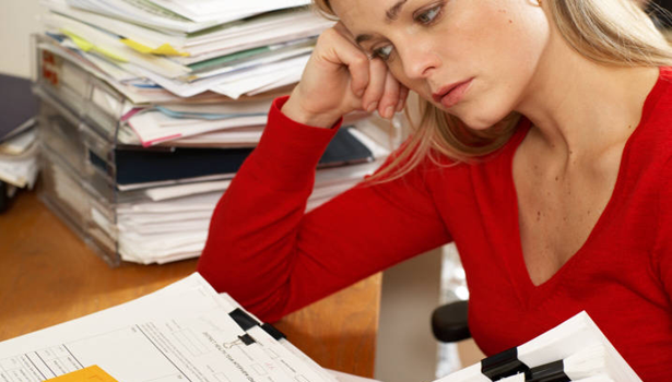 Employee-stressed