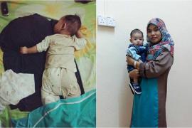 Ibu Dirawat di ICU, Bayi Kecil Ini Hanya Bisa Tidur di Atas Baju Ibunya