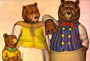 3 Beruang Wannabe