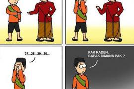 Pak Raden, Bapak di Mana?