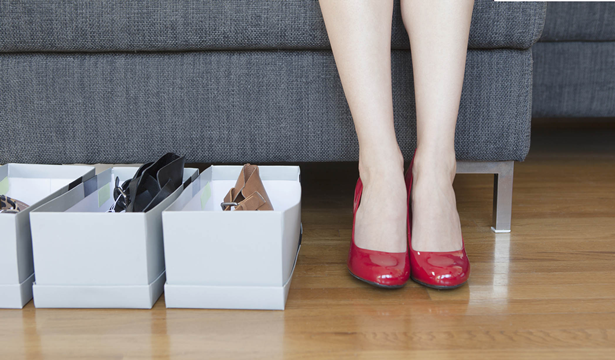 Women wearing shoes